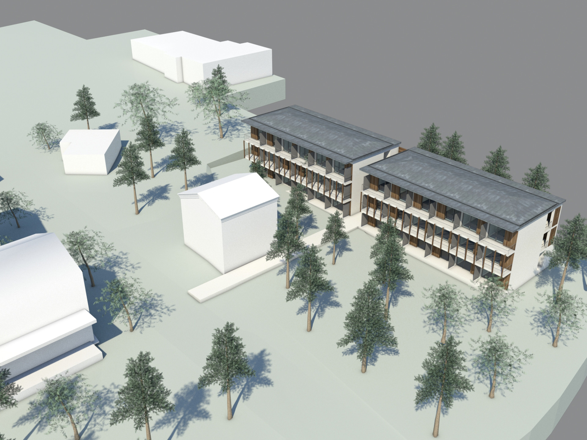 La construction de l'hôtel, Un nouveau défi